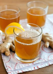 kombucha and ginger