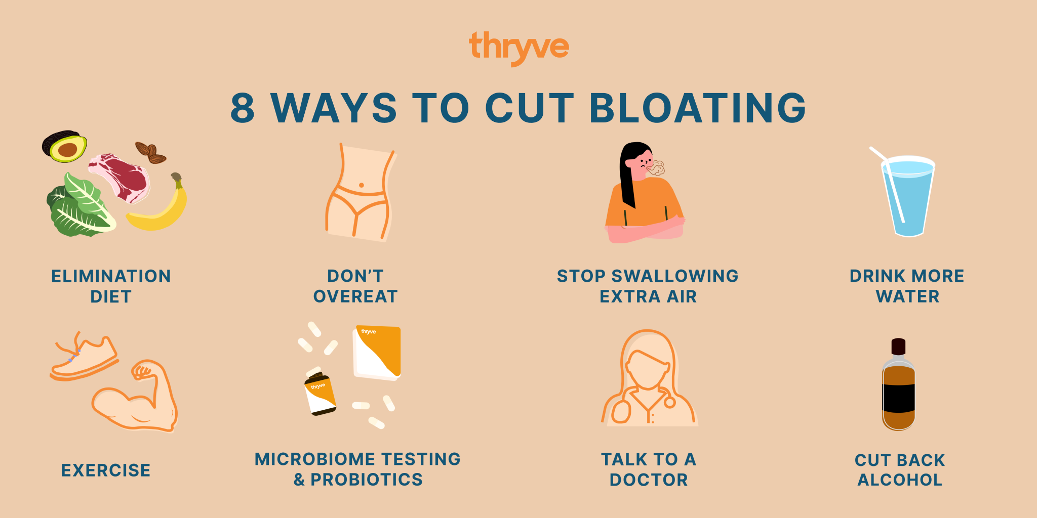 how to cut bloating