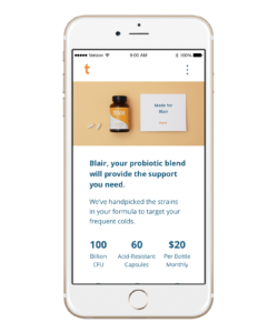 Thryve Gut Health Test Kit and Probotics Foods