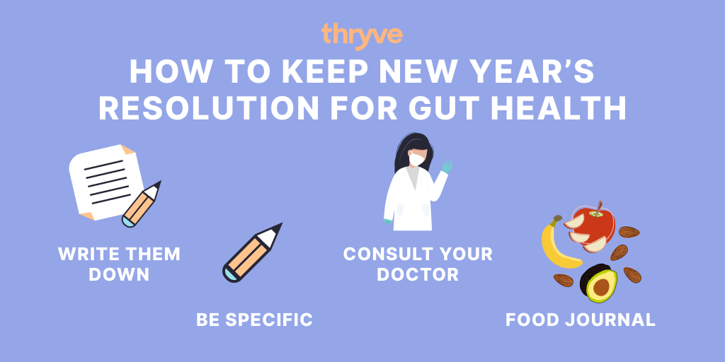 how to improve your gut health in new year's