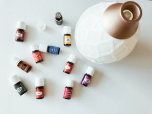 live a healthier life with essential oils